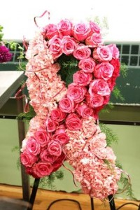 Ribbon Spray **Available in multiple different colors in Teaneck, NJ | Teaneck Flower Shop (A.A.A.A.A.)