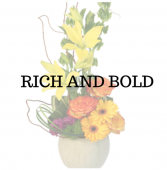 Rich and Bold Flower Arrangement
