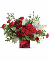 "Rich In Love Bouquet TEV55-7 17.5""(w) x 13.5""(h)"