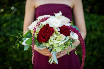 Rich Romance Handheld Bouquet