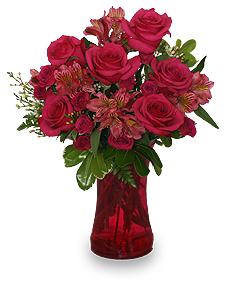 Richly Rosy Bouquet