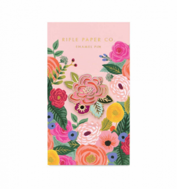 Rifle Paper Juliet Rose Enamel Pin Gifts