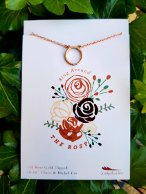 """Ring Around the Rosy"" Necklace"