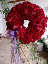 ring around with roses wreath