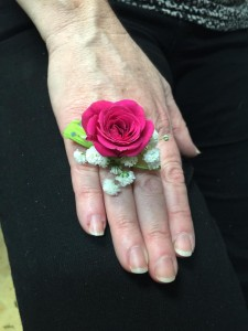 RING CORSAGE Just for fun! Pick your color