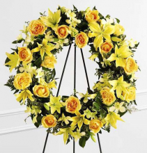 Ring of Friendship Wreath Standing Spray