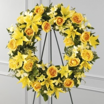 Ring of Friendship Wreath SYMPATHY