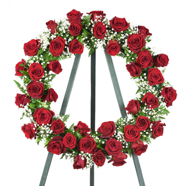 Ring of Roses Wreath