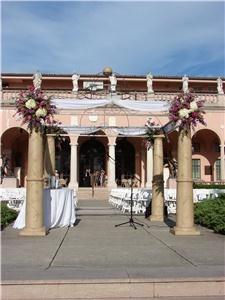 Ringling Museum Wedding