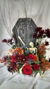 R.I.P. Halloween Design  Halloween in Largo, FL | Rose Garden Florist