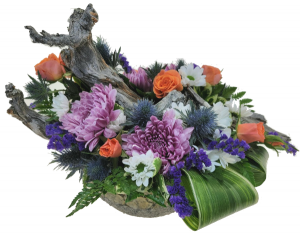 River Flowers Container Arrangement in Invermere, BC | INSPIRE FLORAL BOUTIQUE