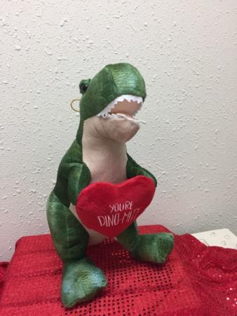 Robbiesaurus Plush