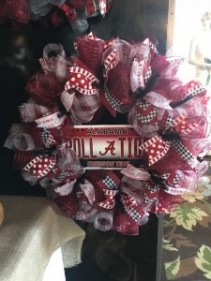 Roll Tide Wreath