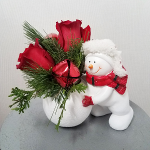 Rollin with my Snowmie  in Port Huron, MI | CHRISTOPHER'S FLOWERS