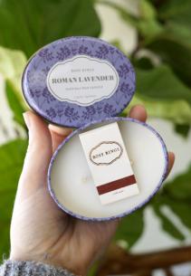 Roman Lavender Travel Tin Candle