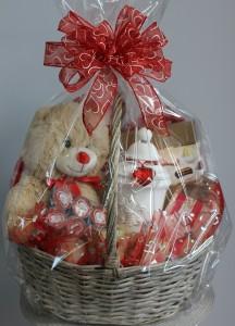 Romance and Relaxation  Gift Basket in Saint Simons Island, GA   A COURTYARD FLORIST