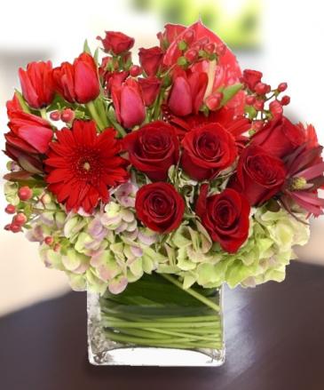 Romance bouquet luxury collection