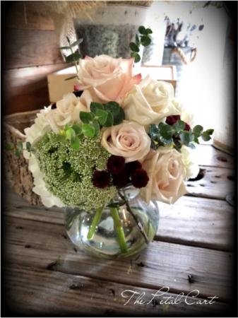 Romance Bouquet  Vase Arrangement