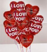 Romance Bunch Balloons