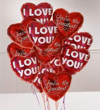 Romance Bunch Balloons