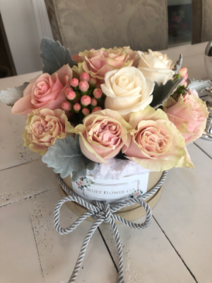 Summer Glow Flower Box Assorted Flowers with Roses in Sparta, NJ | Bluet Flower Co.