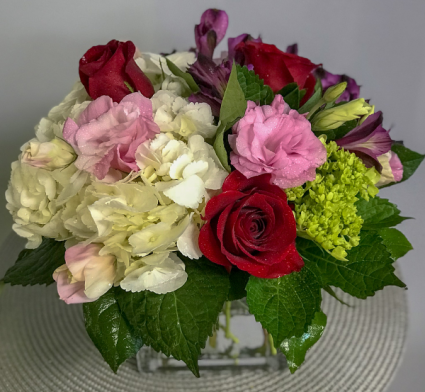Romance In Bloom Floral Arrangement