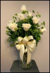 Romance in White  Arrangement