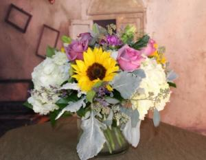 Romance is in the air  Cylinder  in Stevensville, MT | WildWind Floral Design Studio