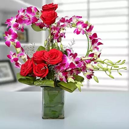 Romance & romance Vase arrangement