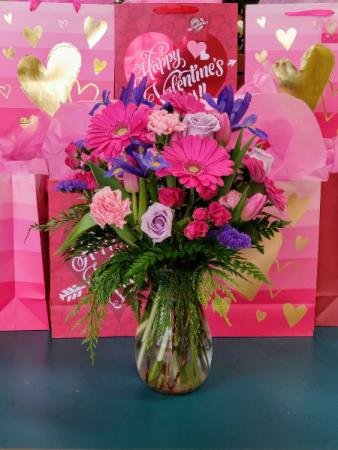 Romance Vase Valentines
