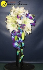 Wedding-Romancer Bouquet Custom Design-Please call for an appointment