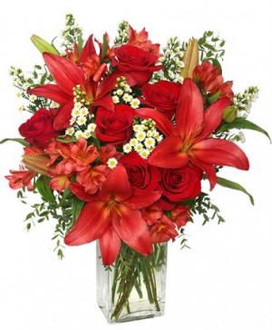 Romancer Enhancer Bouquet in Riverside, CA | Willow Branch Florist of Riverside