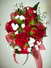 Romancing the Roses Prom Corsage