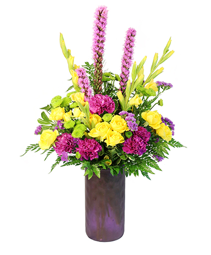 Romancing the Royal Vase Arrangement