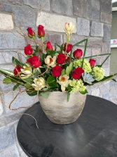 Romantic Angles Flower Arrangement