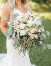 Romantic Blush  Bridal Bouquet