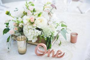 Romantic Box  Wedding Reception in Port Dover, ON | Upsy Daisy Floral Studio