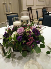 Romantic centerpieces Light up you table with this special occasion centerpiece