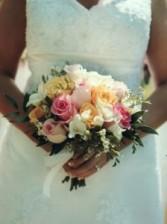 Romantic Clutch Bouquet Wedding