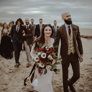 Romantic Fall  Hand-Tied Bridal Bouquet in Tillamook, OR | ANDERSON FLORIST