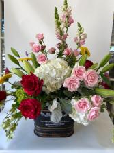 Romantic Garden Cuts Custom, Premium, Luxury
