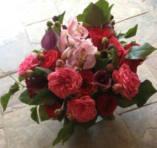 Luxe Romantic Vase Arrangement