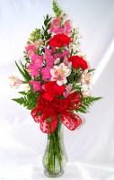 Romantic Mix Vase Arrangement
