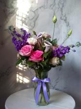 Romantic Purple Stock