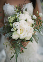 Romantic Ranunculus Bridal Bouquet