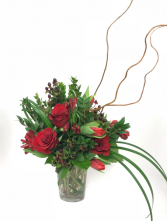 Romantic Red Arrangement
