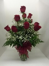 Romantic Red Dozen Roses