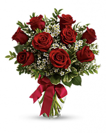 SPECIAL - Romantic Red Long Stemmed Roses