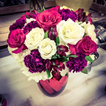 Romantic Reds Arrangement