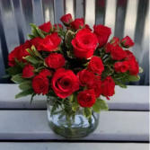 Romantic Reds Spray Roses